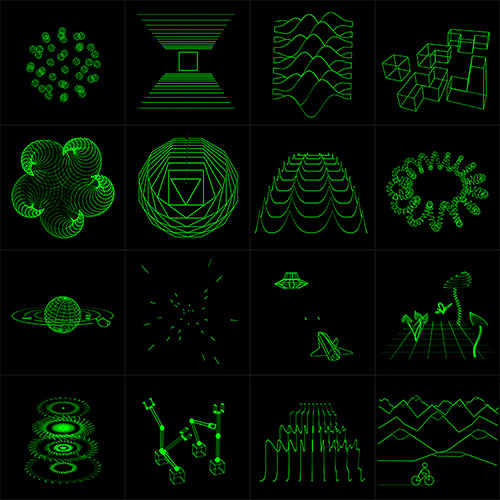 Oscilloscope Music stills